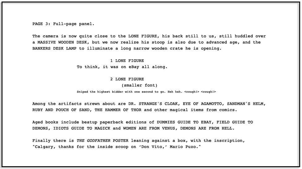dpk431 #001: Page Three