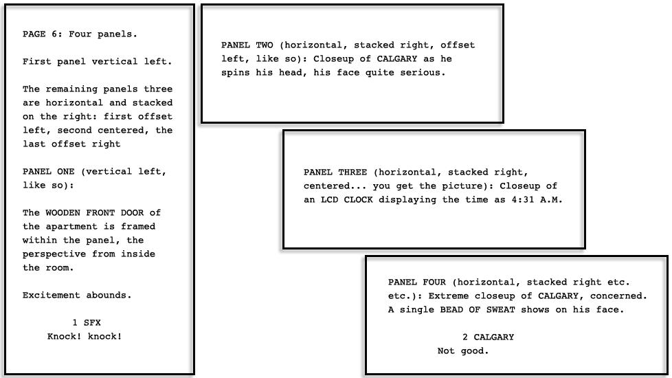dpk431 #001: Page Six